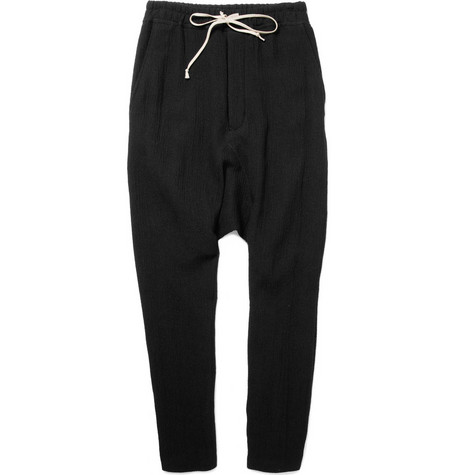 Rick Owens Drop Crotch Sweatpants