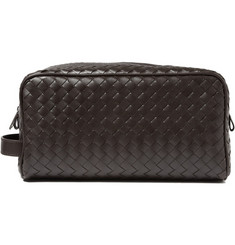 Bottega Veneta Intrecciato Leather Wash Bag