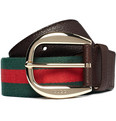 Gucci Signature Stripe Belt