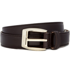 Gucci Slim Leather Belt