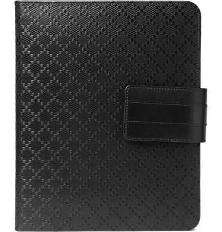 Gucci Diamond Patterned Black iPad Case