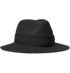 Lanvin Rabbit-Felt Fedora Hat