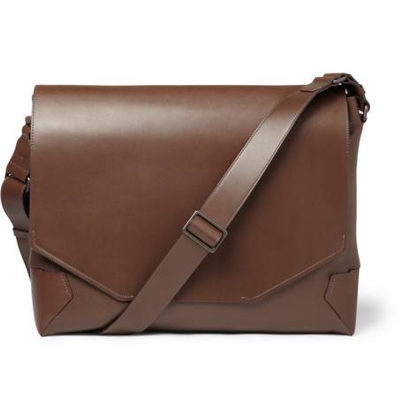 Lanvin Origami Leather Messenger Bag