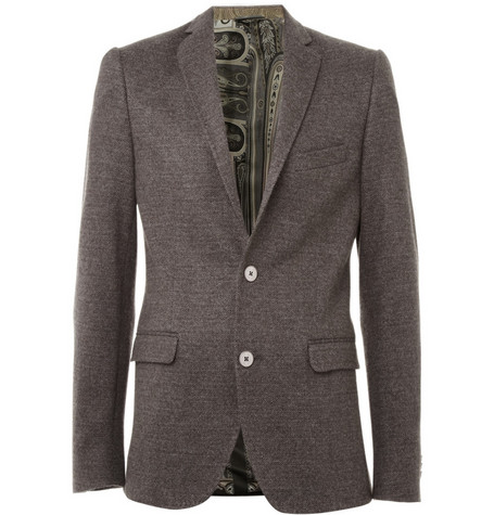 Etro Cashmere Two Button Blazer