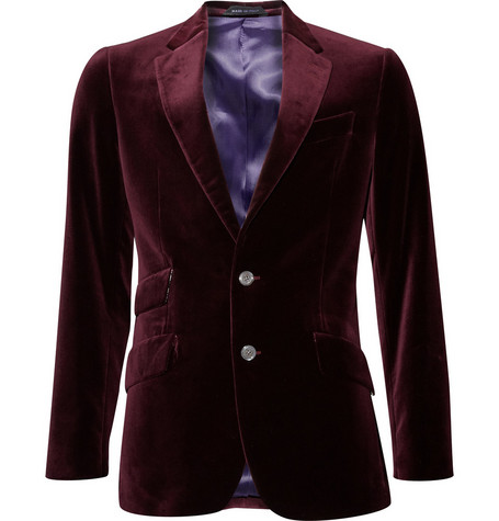 Paul Smith London Slim Fit Velvet Jacket