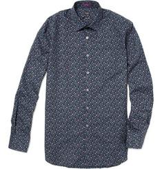 Paul Smith London Floral Pattern Cotton Shirt