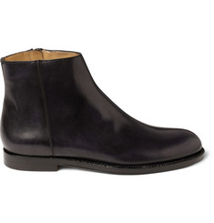 Jimmy Choo Bedford Burnished Leather Chelsea Boots