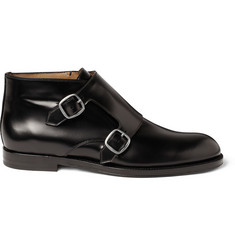 Jimmy Choo Double Monk-Strap Boots