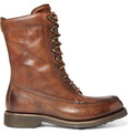 Ralph Lauren Shoes & Accessories Lined Pre-Aged Leather Boots