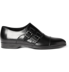 Ralph Lauren Shoes & Accessories Leather Monk Strap Shoes