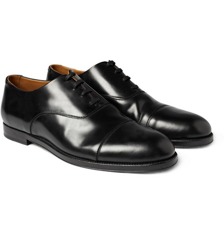 Jimmy Choo Draycott Leather Oxford Shoes