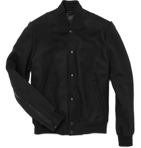 Givenchy Wool-Blend Varsity Jacket
