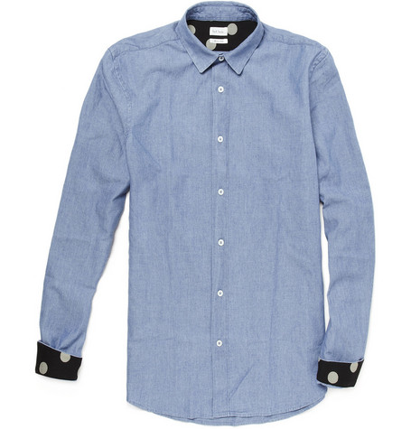 Paul Smith Cotton Chambray Shirt