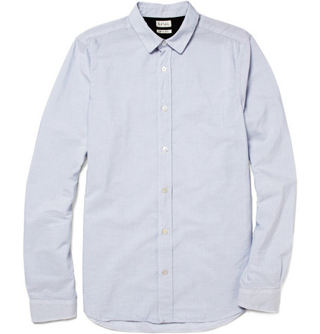 Paul Smith Fine Striped Cotton Shirt