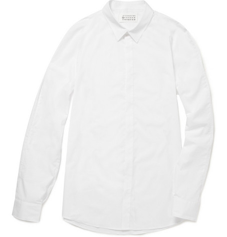 Maison Martin Margiela Slim Fit Cotton Shirt