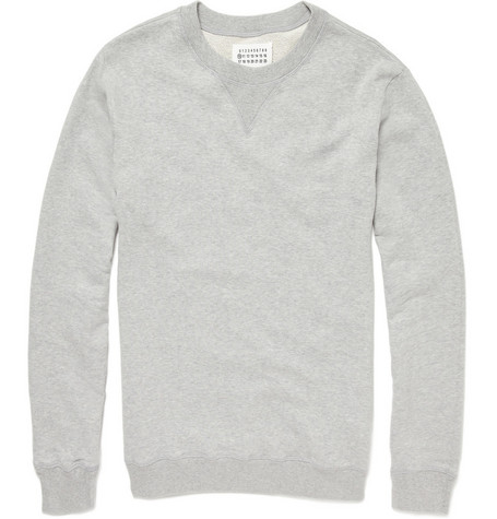 Maison Martin Margiela Crew Neck Cotton Sweater