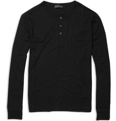 Ralph Lauren Black Label Cotton Henley Top