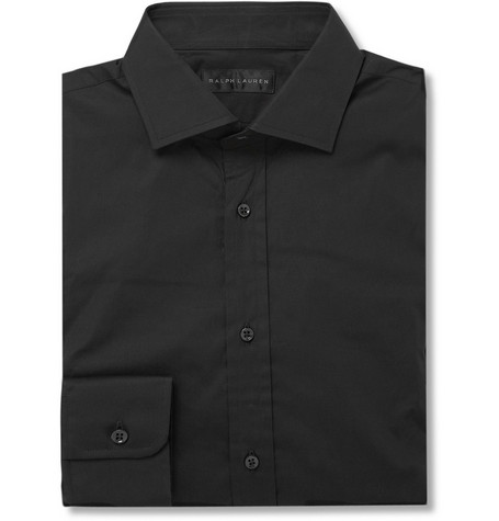 Ralph Lauren Black Label Bond Cotton-Blend Shirt