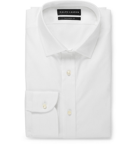 Ralph Lauren Black Label Sloane White Cotton Shirt