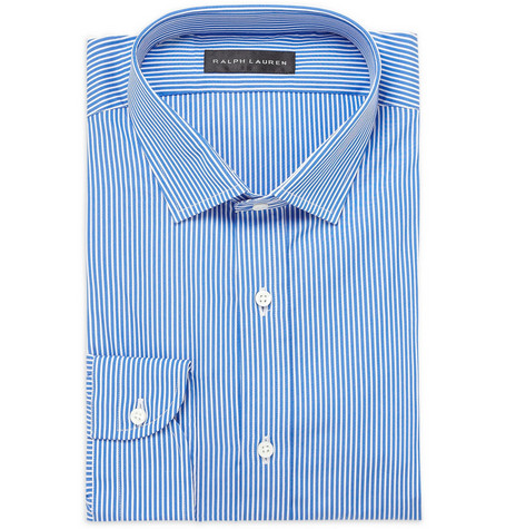 Ralph Lauren Black Label Narrow Bengal Stripe Cotton Shirt