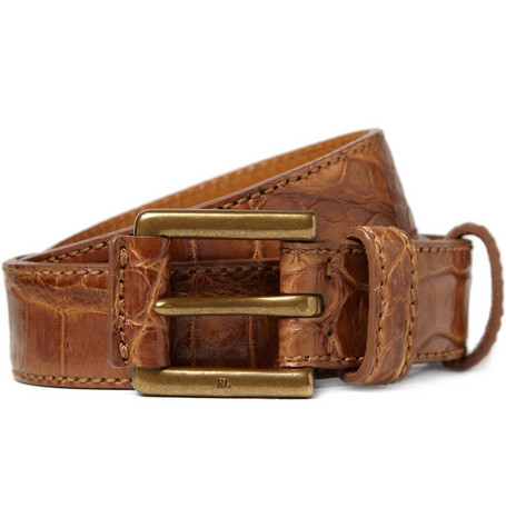 Ralph Lauren Shoes & Accessories Alligator Leather Belt