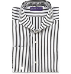 Ralph Lauren Purple Label Bengal Striped Cotton Dress Shirt