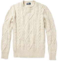 Polo Ralph Lauren Cable Knit Aran Sweater