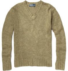 Polo Ralph Lauren Chunky Knit Linen-Blend Sweater