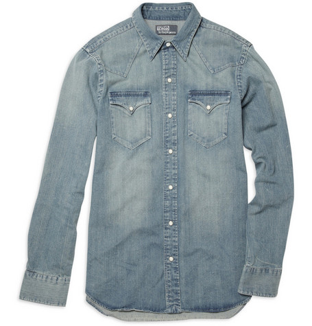 Polo Ralph Lauren<br /> Western Denim Shirt