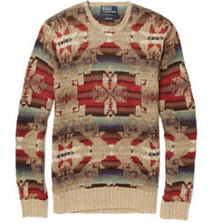 Polo Ralph Lauren Knitted Linen-Blend Sweater