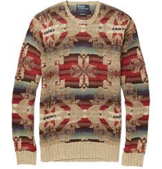 Polo Ralph Lauren Knitted Linen-Blend Sweater
