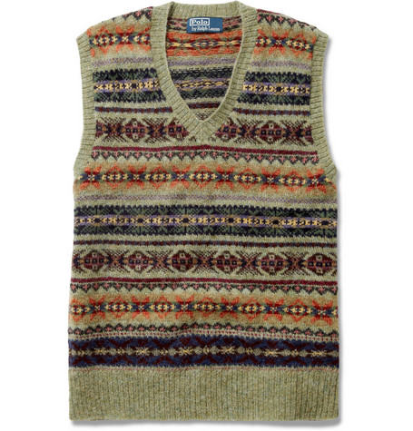 Polo Ralph Lauren Fair Isle Sleeveless Sweater