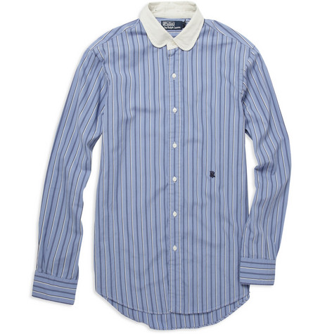 Polo Ralph Lauren Custom Fit Round Collar Cotton Shirt