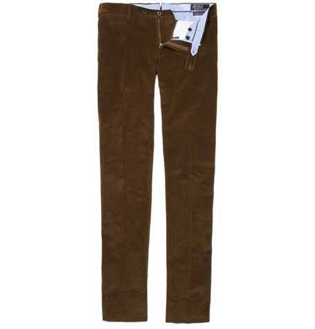 Polo Ralph Lauren Straight-Leg Corduroy Trousers