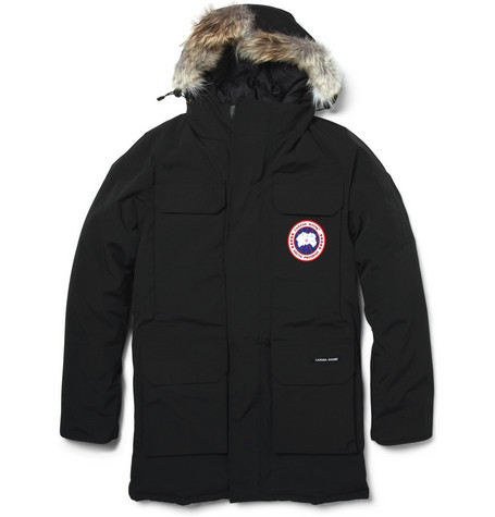 Citadel Coyote-Trim Parka Jacket