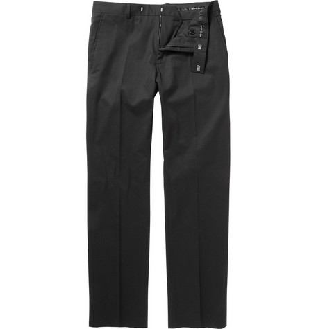 Ralph Lauren Black Label Slim-Fit Cotton-Blend Trousers