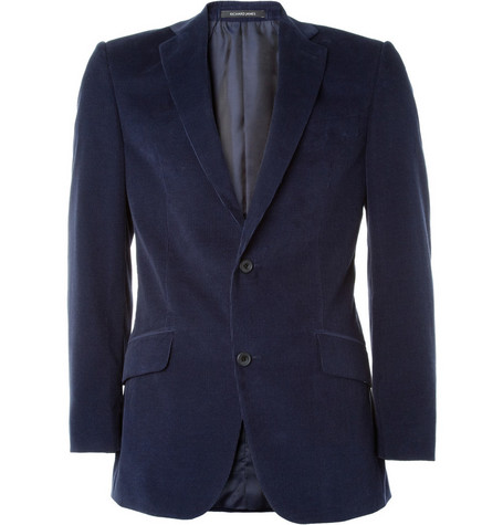 Richard James Cotton-Corduroy Blazer