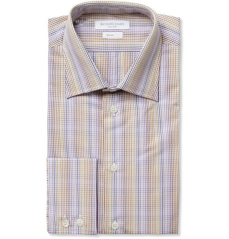 Richard James Check Cotton Shirt
