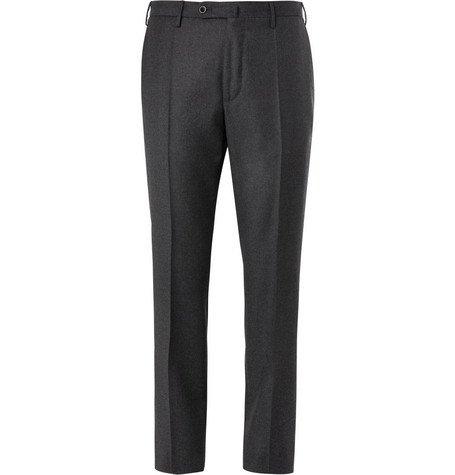 Slowear Incotex Straight-Leg Wool Trousers