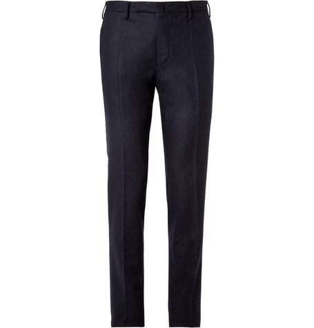 Slowear Incotex Slim-Fit Wool-Flannel Trousers