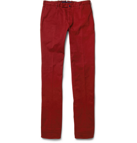 Slowear Incotex Slim-Fit Cotton-Blend Twill Chinos