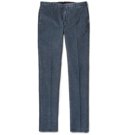 Slowear Incotex Slim-Fit Corduroy Trousers