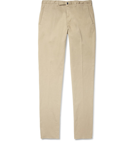 Slowear Incotex Skinny-Fit Cotton-Blend Twill Chinos