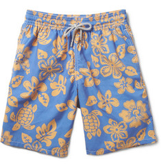 Vilebrequin Okoa Long-Length Printed Swim Shorts