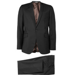 Spencer Hart Navy Slim-Lapel Wool Suit