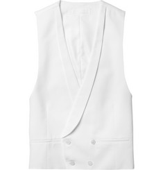 Spencer Hart Double-Breasted Cotton Waistcoat