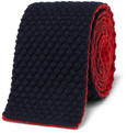 Drake's - Reversible Knitted Wool Tie