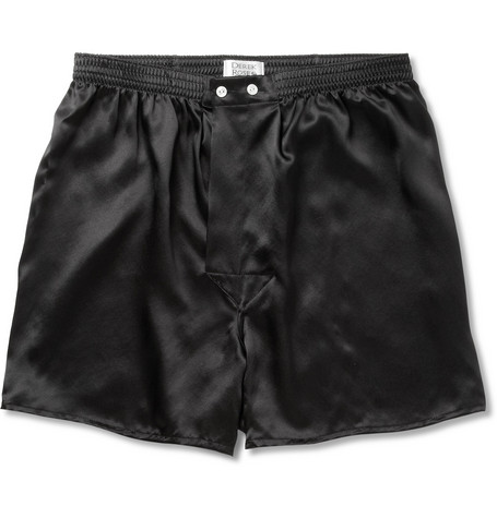 Derek Rose Silk Boxer Shorts