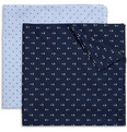 Derek Rose Printed Cotton Handkerchief Set