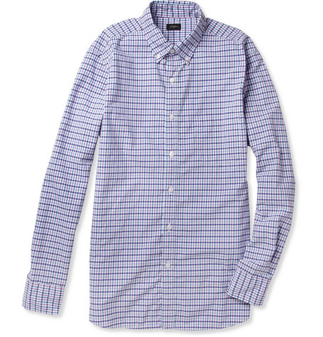 J.Crew Speirs Check Cotton Shirt